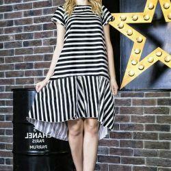 Summer dress striped