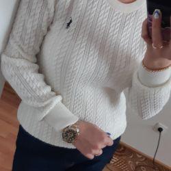 Sweatshirt pullover female polo cardigan sweater sweatshirt