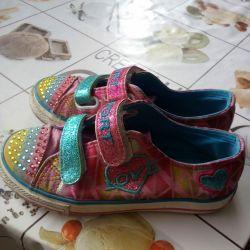 Sneakers, moccasins, sneakers