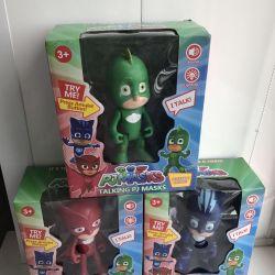 Maskelerde kahramanlar, 18 cm ışık ve ses.