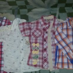 Shirts for 3-4 years per 100 cm