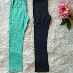New leggings (aquamarine) 110/116