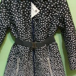 Kızlar için palto Growth 152