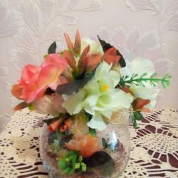 Topiary in a vase