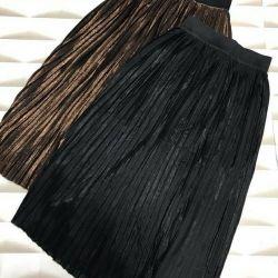 Νέες πλεκτές φούστες
