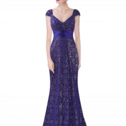 New Lace Mermaid Dress with Belt 44/46