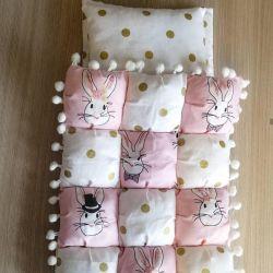 Комплект для кукольных кроваток и колясок