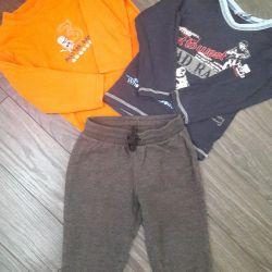 Sports pants + blouse