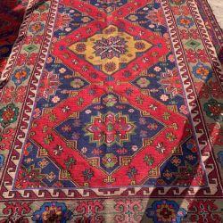 Kilim vintage homespun. Oriental carpet Sumy