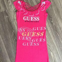 Платье розовое Guess