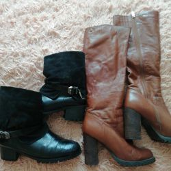 Boots genuine leather