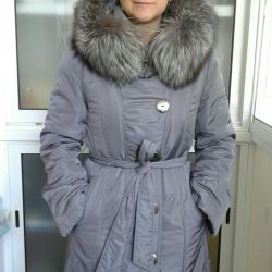 Winter coat on the sea size 46