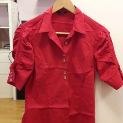 Shirt red 44 size Guess by Marciano
