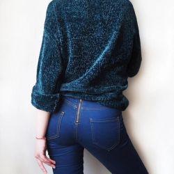 Όμορφο πουλόβερ σενίλλης