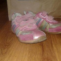 Spor ayakkabı (noodle süet ve deri)