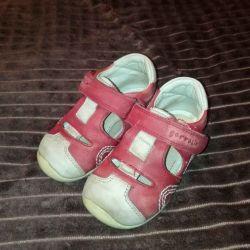 Sandalet, ayakkabı 21 boyut