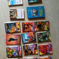 A set of books 16 pcs.