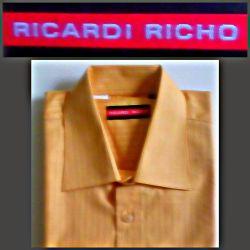Κλασικό πουκάμισο των ανδρών Ricardi Richo. Νέα.