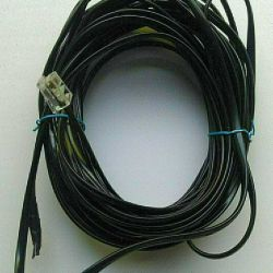 Telephone cable, 4-core
