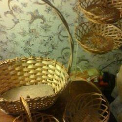 Baskets for decoration