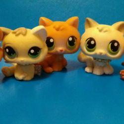 Pet Shop Kittens Lps Little Pet Shop