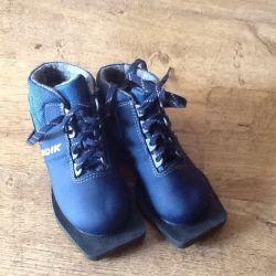Ботинки лыжные детские 30 размер