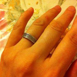 Серебренное кольцо SL