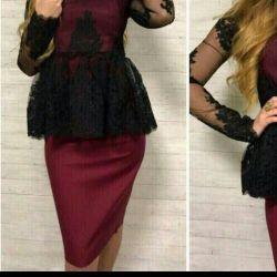 Takım elbise etek + bluz