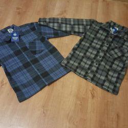 Новые тeплые рубашки