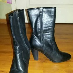Leather low boots 37 and 38
