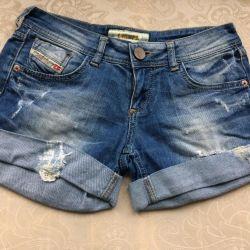 Шорты джинсовые дизель оригинал