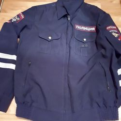 Form of traffic police officer