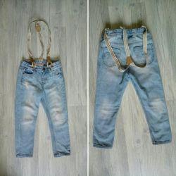 Jeans H & M, Zara.
