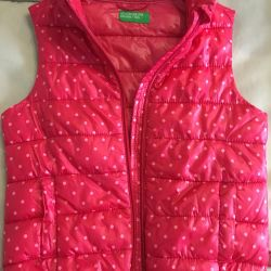 """Vest for the girl """"Benetton"""""""