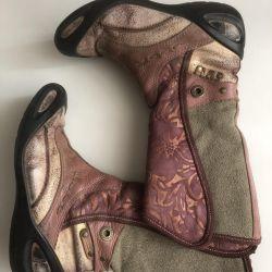 Boots for girls demi-season Ecco 34r