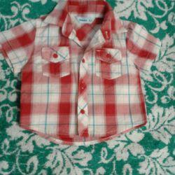Shirt for a boy, 3-6 months.