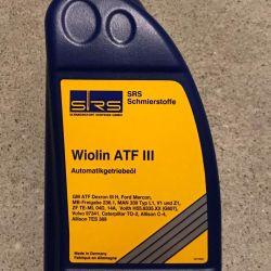 Трансмиссионное масло SRS Wiolin ATF III,VI 1L