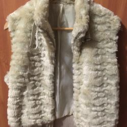 Stylish fur vest