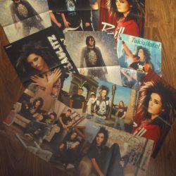 Плакаты с Tokio Hotel