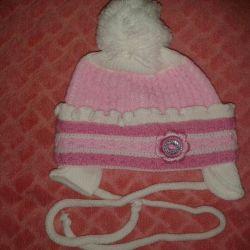 Hat pentru o fată nou-născută Primăvară / toamnă