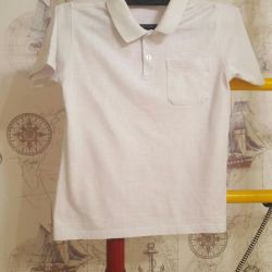 Polo tricou cu cămașă de mână