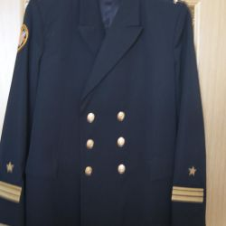Black Navy jacket (there are trousers) р.54 / 6 Measurements