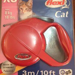 Рулетка xs для кошек 3м