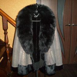 Дубленка куртка Лиса Турция