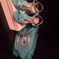Sandals and handbag - ? clutch