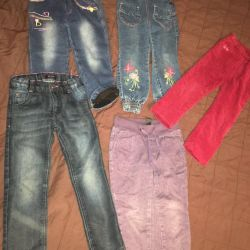 Different pants