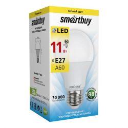 Η λυχνία LED Smartbuy-A60-11W3000E27 είναι ζεστή
