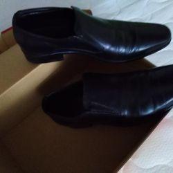 Erkek ayakkabıları YENİ 40 Beden hakiki deri