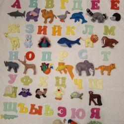 Animal Felt Alphabet