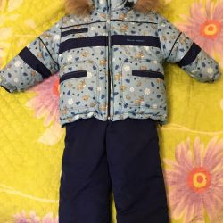 Winter suit Jacket + semi-overalls winter urgently